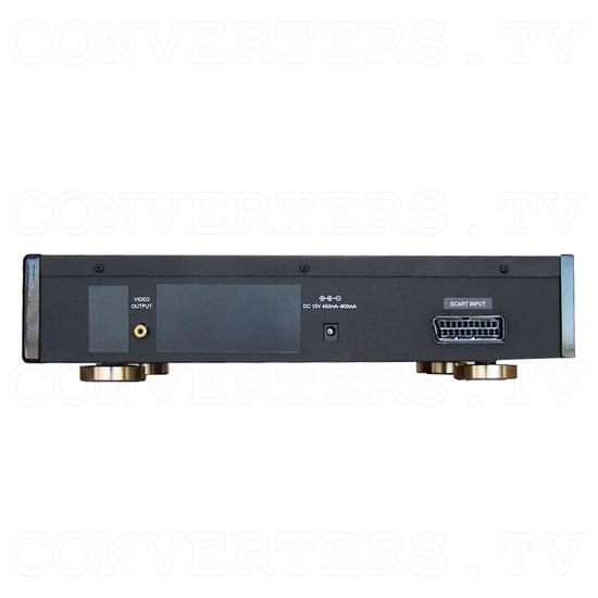 PAL RGB at 50Hz To NTSC Video Converter - Back View