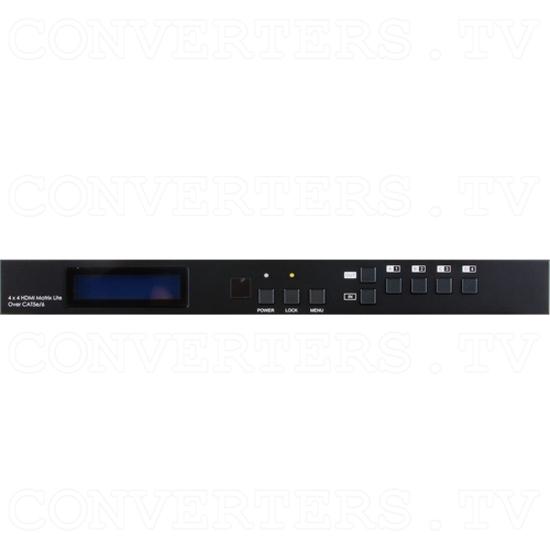 HDBaseT Lite 4×4 HDMI Matrix over CAT5e/6/7 Cable - Image 2