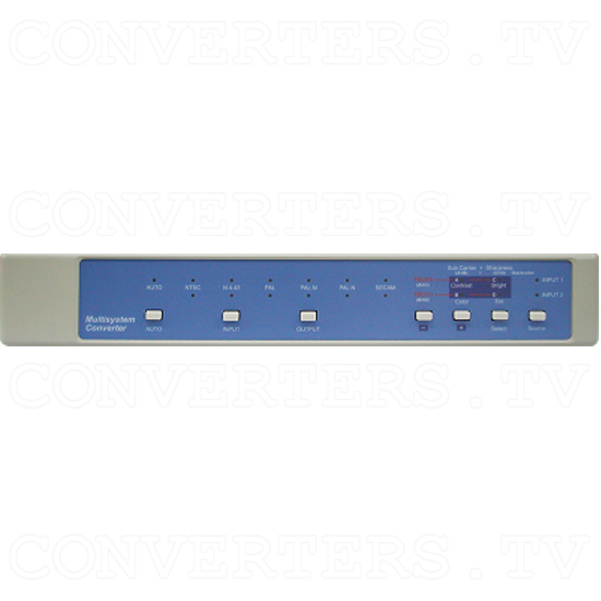 Worldwide super Multi-system Converter with TBC/GENLOCK (CDM-831T-RCA) - ID#14 Front View1.png