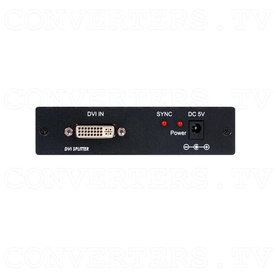 1 x 2 DVI Splitter - Front View