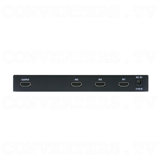 HDMI 3in 1out Switch - Back View