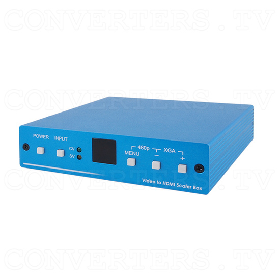 SV/CV to HDMI Scaler - Full View