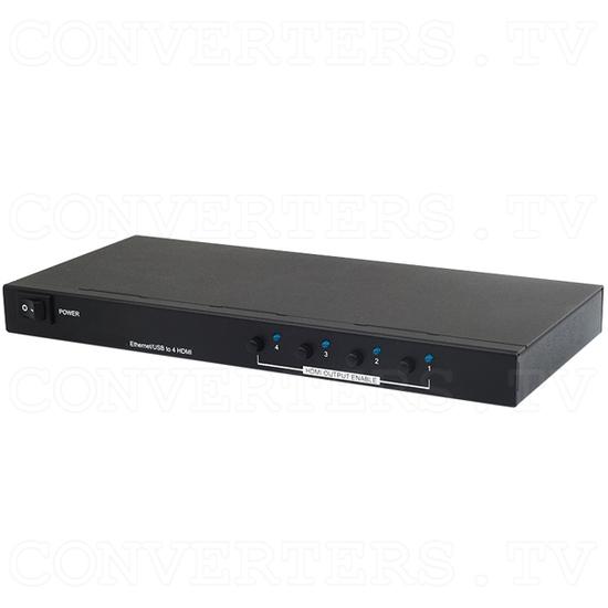 USB/Ethernet to HDMI Splitter/Converter - Full View