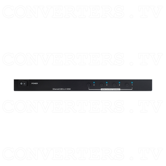 USB/Ethernet to HDMI Splitter/Converter - Front View