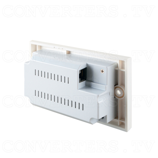 HDMI over CAT5e/6/7 Wall-plate Transmitter and Receiver - Back View