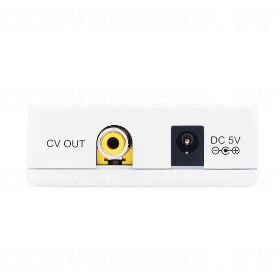 DVI-D to PAL NTSC Composite Video Scan Converter - Front View