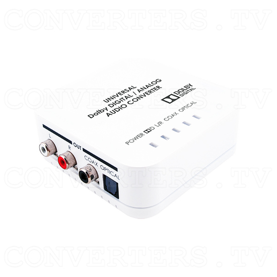 Digital/Analog Audio Converter with Dolby Digital Decoder - Full View