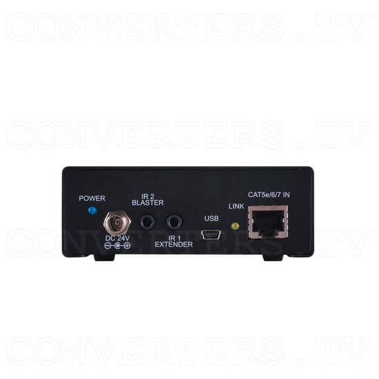 HDBaseT Dual HDMI Output over Single CAT5e/6/7 Receiver - Back View