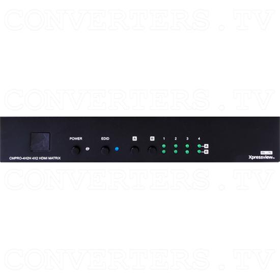 HDMI v1.4 4x2 Matrix 4k2k - Front View