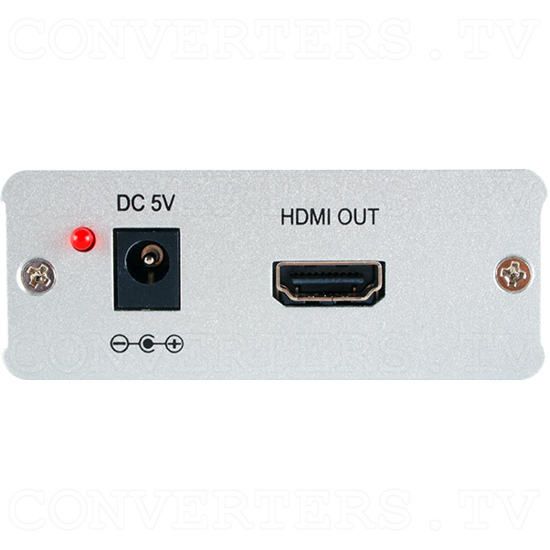 HDMI and Dolby Audio over single Cat5e/6/7 Receiver - ID#15127 Front View.png