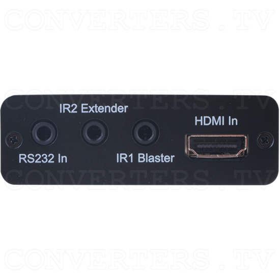HDBaseT HDMI & IR over single CAT5e/6 Transmitter - ID#922 Front View.png