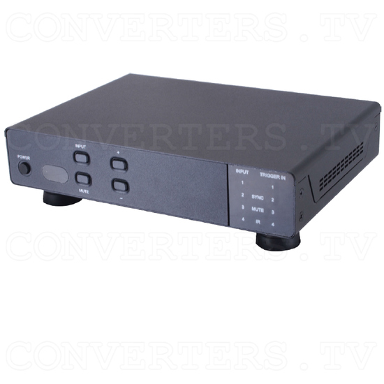 4 x 1 HDMI UHD Switcher with Fast Switching and Control System - Full View