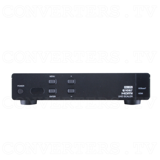 HDBaseT HDMI UHD Receiver and Scaler - Front View