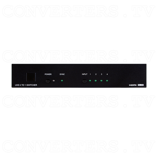 HDMI 4 in 1 out 4k2k Switch - Front View