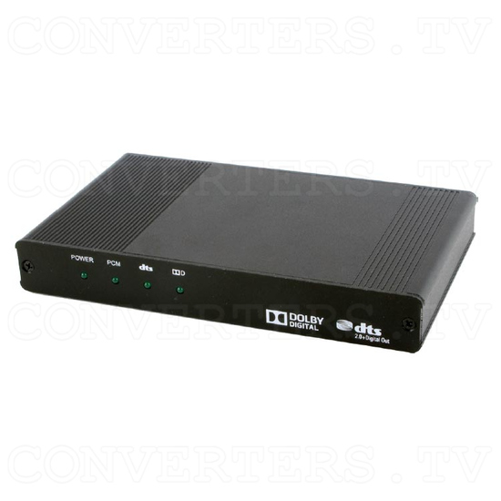 HDMI Audio with Dolby Digital & DTS 2.0+Digital Out Decoder - Full View