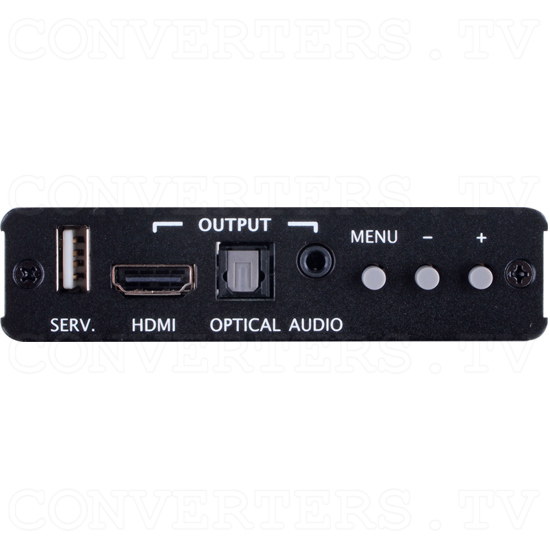 Composite S-Video to HDMI 1080p Scaler Format Converter - Front View