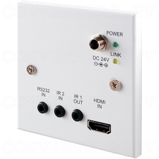 HDBaseT HDMI over Single Cat5e/6/7 Wall Plate Transmitter - ID#15123 Full View.png