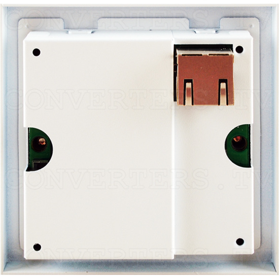 HDBaseT HDMI over Single Cat5e/6/7 Wall Plate Transmitter - ID#15123 Back View.png