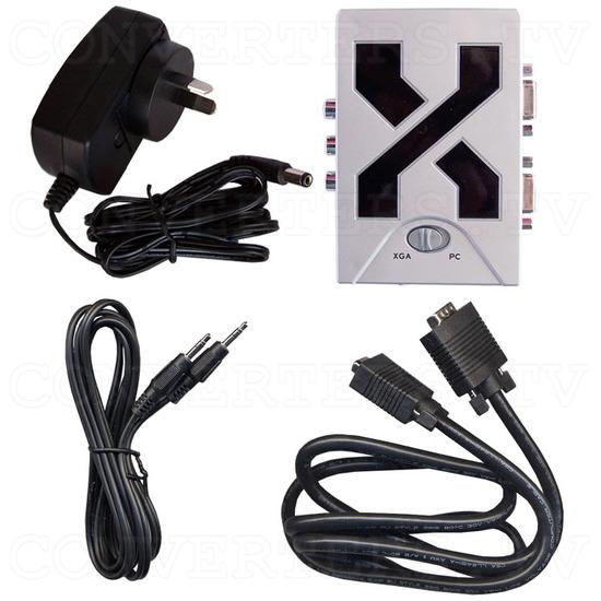 Video to XGA Converter (XGA Box) - Full Kit
