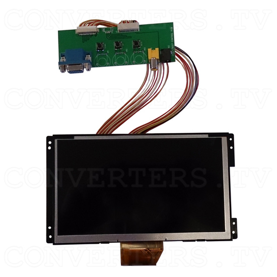 7 Inch Delta FWXGA LCD Panel - Front View