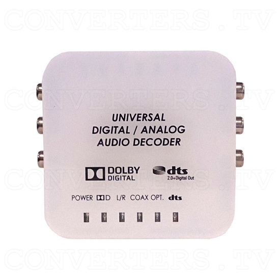 Universal DAC Audio Converter with Dolby and DTS Decoder - Top View