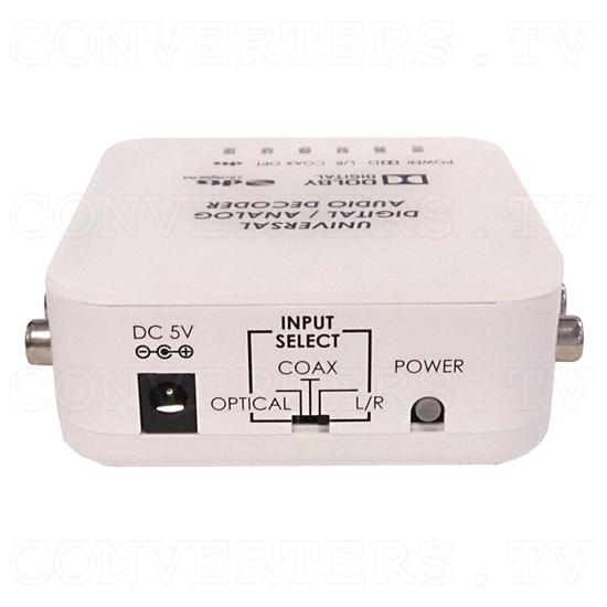 Universal DAC Audio Converter with Dolby and DTS Decoder - Front View