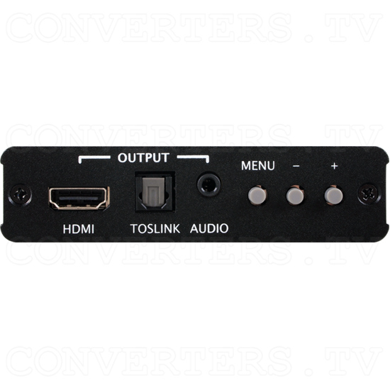 HDMI to HDMI Scaler Box - Front View