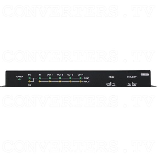 1 Input 4 Output 4K2K HDMI 6G Splitter - Front View