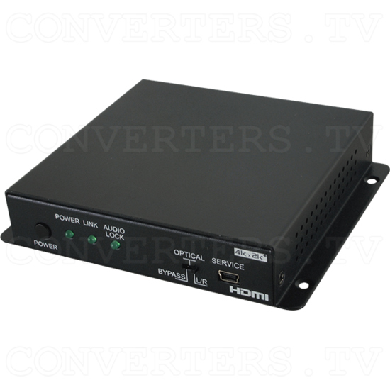 6G HDMI Audio Inserter w/HDCP2.2 - Full View