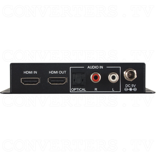 6G HDMI Audio Inserter w/HDCP2.2 - Back View