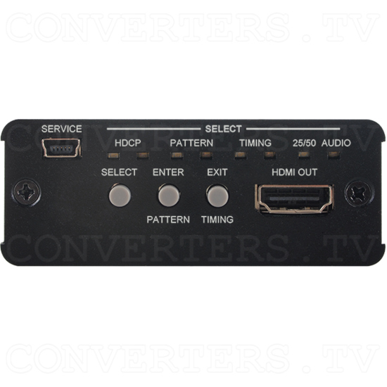 HDMI 6G Audio Bridge with Pattern Generator - Front View