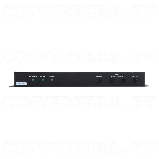 1 In 2 Out UHD 4K2K Splitter Scaler - Front View