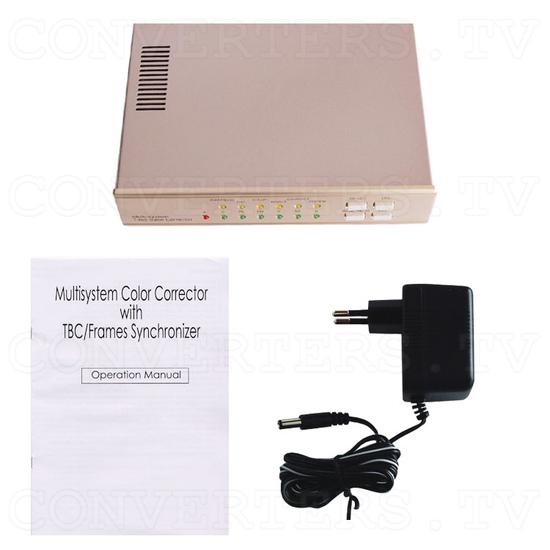 MultiSystem Time Base Corrector with Genlock - Full Kit