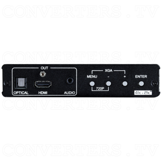 HDMI/VGA to HDMI 6G Scaler - Front View