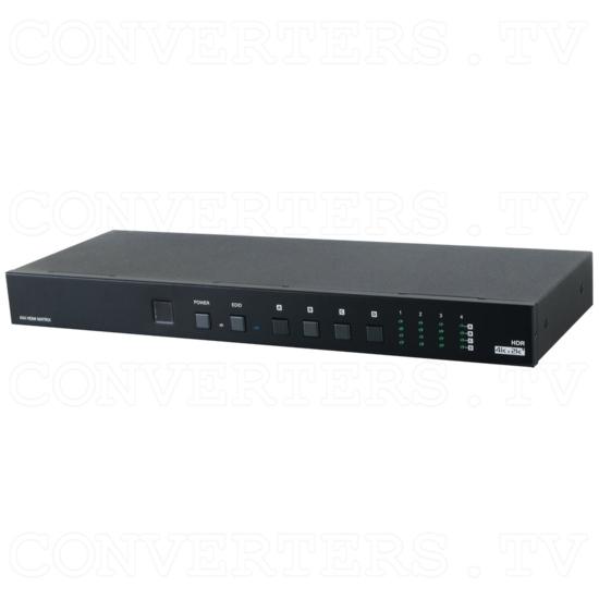 4x4 UHD 6G Matrix with HDCP 2.2 - Full View