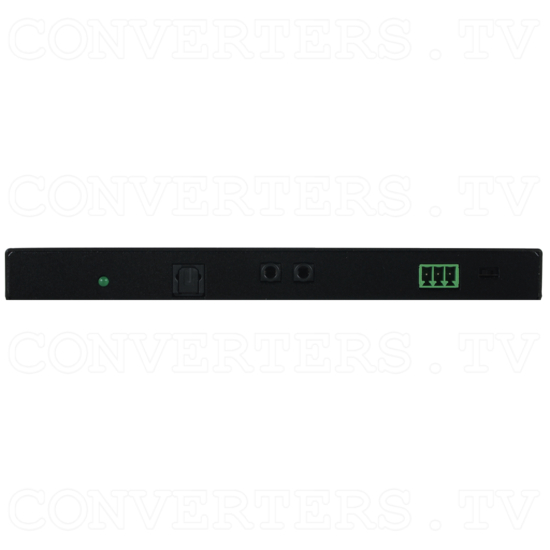 HDMI over CAT Cable Receiver with 48vPoH/LAN/ARC/EDID - Front View