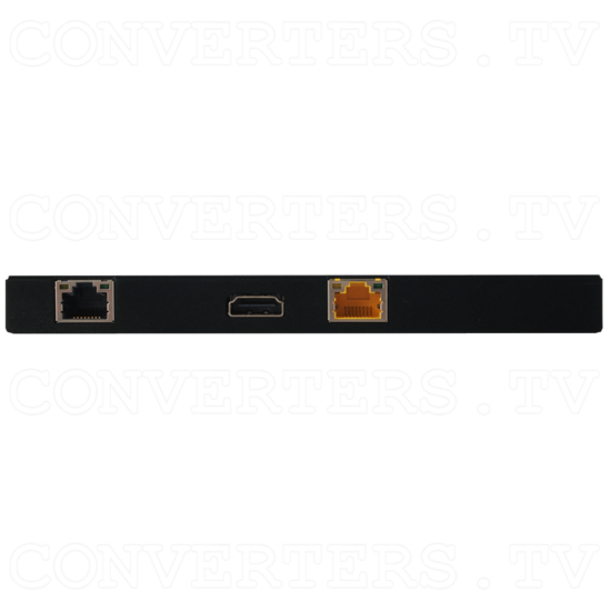 HDMI over CAT Cable Receiver with 48vPoH/LAN/ARC/EDID - Back View