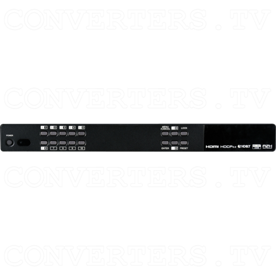 4 HDMI to 4 CAT/2 HDMI Out Video Audio Matrix 40m - Front View