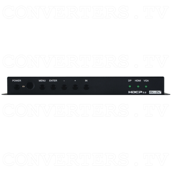 Multi Video to HDMI UHD Scaler - Front View