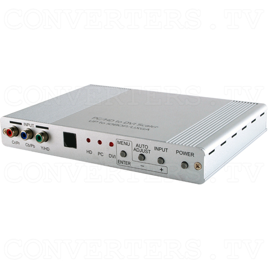 DVI, VGA & Component to DVI, VGA Scaler Converter - ID#15443 Full View.png