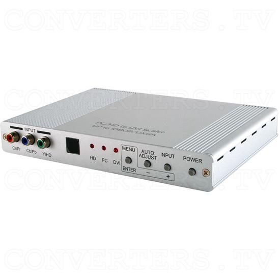 DVI, VGA & Component to DVI, VGA Scaler Converter - ID#15443 Full View.png
