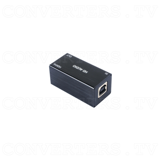 USB PC to Optical Audio Converter (up to 192kHz) - Front View