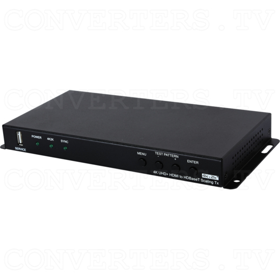HDMI to HDBaseT Scaler with Audio Output - Full View