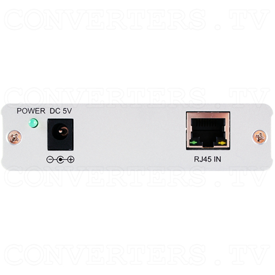 USB over CAT5/6/7 Transmitter and Receiver Box - ID#843 Rx Back View.png