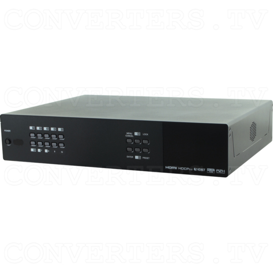 6H + 6CV/2H HDMI to CAT Audio Matrix 100m - Full View