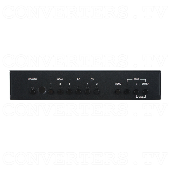 Video PC HDMI to HDMI Scaler - Front View