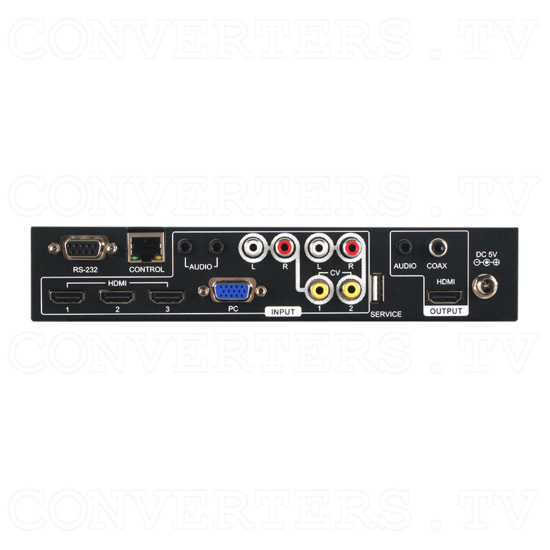 Video PC HDMI to HDMI Scaler - Back View