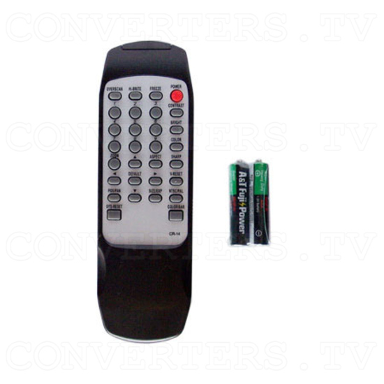 VGA to RGB or Video Converter - Remote Control