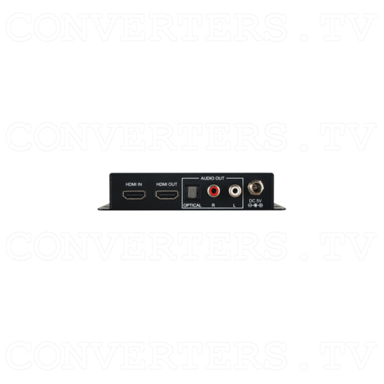 UHD 4K 6G Audio Extractor w/ HDCP2.2 - ID#15523 Back View.png