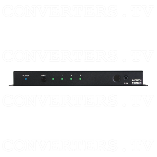 4 Way HDMI UHD+ Switch - ID#15491 Front View.png